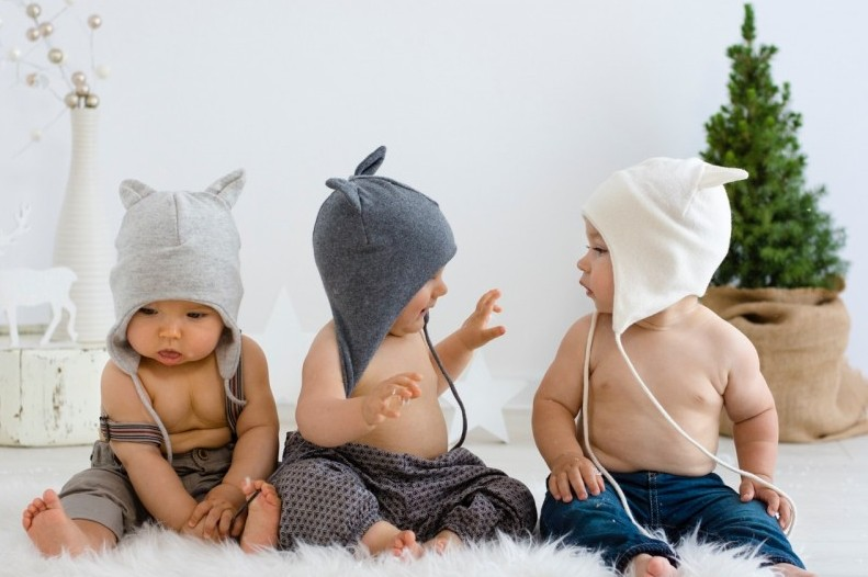32c9d649c3e Cashmere and Merino Wool Baby Hat - Deco Kids